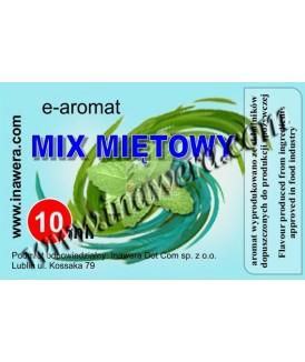 Aromaty miętowe Inawera 10ml